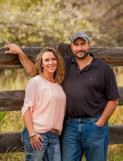 Dustin Bergstrom owner and wife Krista Bergstrom